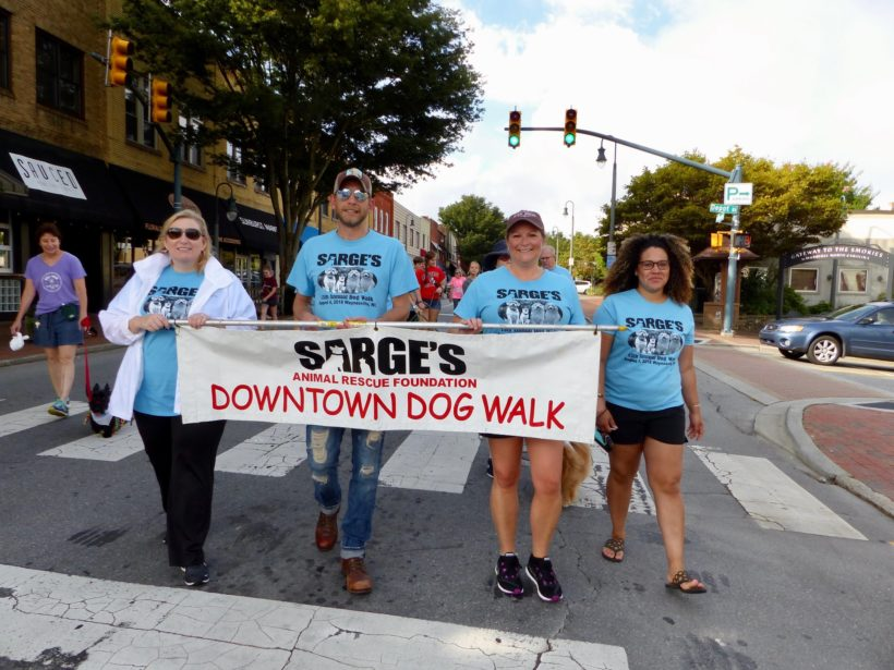 Sarge's 13th Annual Downtown Dog Walk